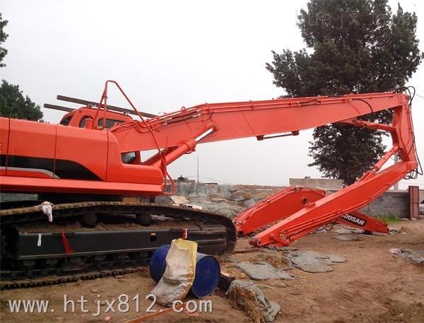 现代R335挖掘机三段拆楼臂 厂家供应