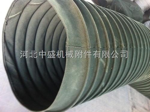 耐磨帆布水泥散装伸缩布袋 伸缩筒
