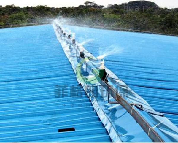 工厂铁皮屋顶喷淋降温/专业喷雾设备