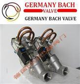 进口带电磁阀气动角座阀|-德国Bach品牌