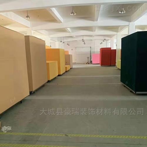 豪瑞岩棉板聚酯纤板材料优异的力学性能