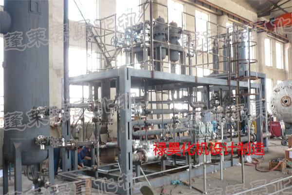 施工中鹤壁煤化工项目