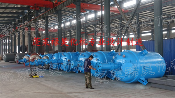 安徽丰原集团一批加氢釜顺利完工