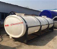 华社10吨耐摔耐磨化工运输桶生产 卧式水箱